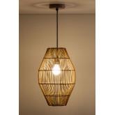 Khumo Bamboo Ceiling Lamp, thumbnail image 2