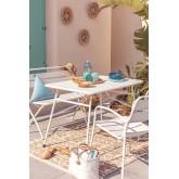 Outdoor Steel  Foldable Table Janti , thumbnail image 1
