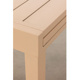 Extendable Aluminum Garden Table Starmi (90-180x90 cm) , thumbnail image 6