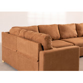 4 Seater  Fabric Corner Sofa Bed Anders, thumbnail image 5