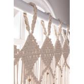 Macrame curtain (215x110 cm) Luana, thumbnail image 2