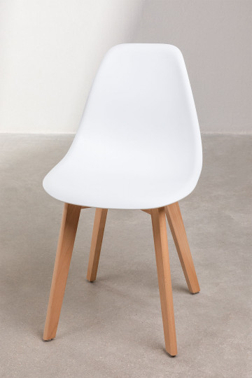 Pack of 2 Scand Scandinavian Dining Chairs