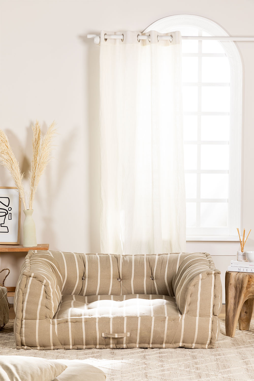 Modular Sofa in Cotton Dhel Boho, gallery image 1