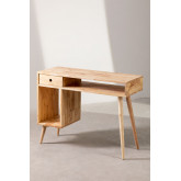 Wooden Storage Desk Arlan, thumbnail image 4
