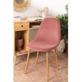 Glamm Velvet Chair, thumbnail image 1