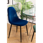 PACK of 2 Glamm Velvet Chair, thumbnail image 1