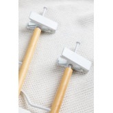 Set of 2 Hangers with Clip Corin Kids, thumbnail image 4