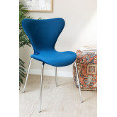 Uit Velvet Dining Chair, thumbnail image 1