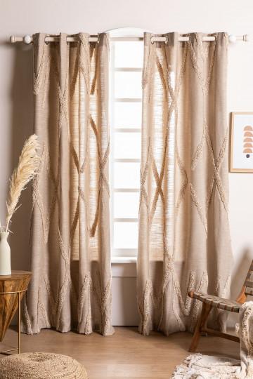 Cotton Curtain (209x134 cm) Jasper