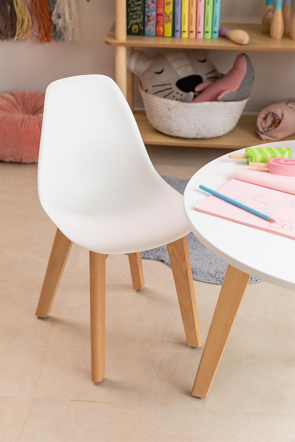 Mini Scand Nordic Kids Chair, gallery image 1