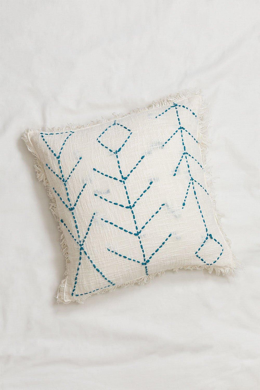 Square Cotton Cushion (50x50cm) Golim, gallery image 1