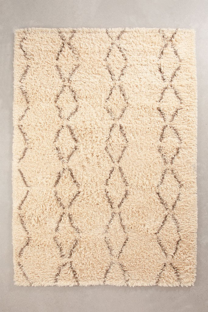 Cotton and Wool Rug (232x164 cm) Ewan, gallery image 1