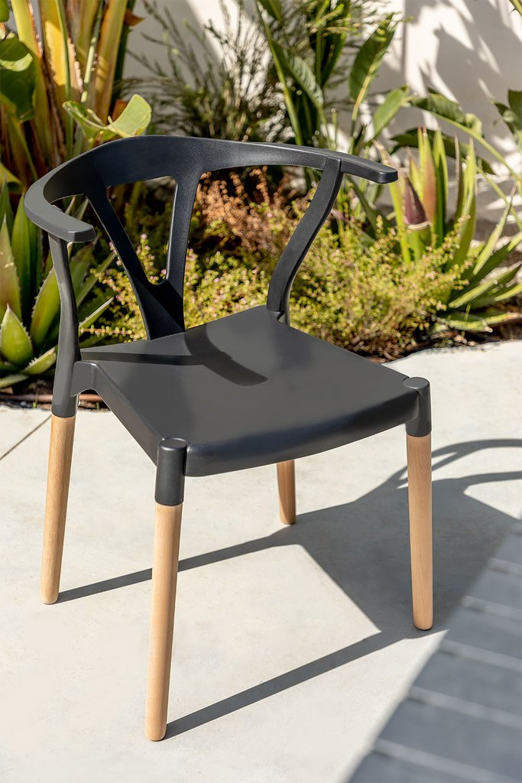 Wood & Polyethylene Garden Chair Uish , gallery image 1