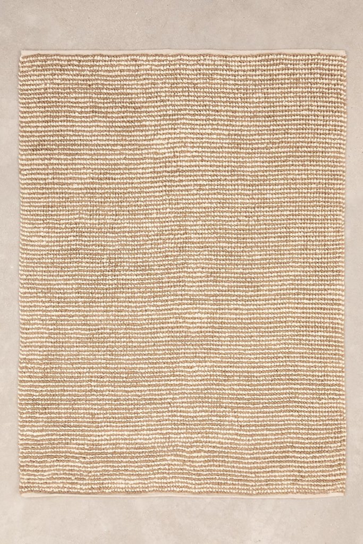 Jute and Wool Rug (228x165 cm) Prixet, gallery image 1