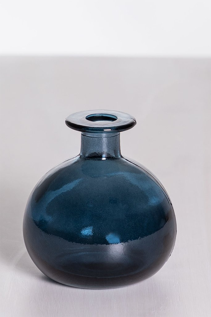 Endon Recycled Glass Vase, gallery image 1