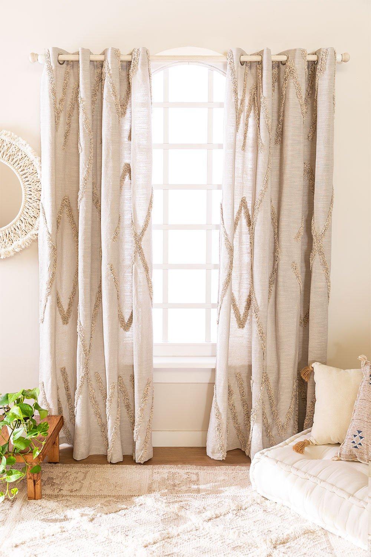 Cotton Curtain Jasper (209x134 cm) , gallery image 1