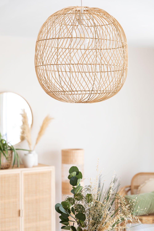 Ceiling Lamp in Rattan (Ø50 cm) Api, gallery image 1