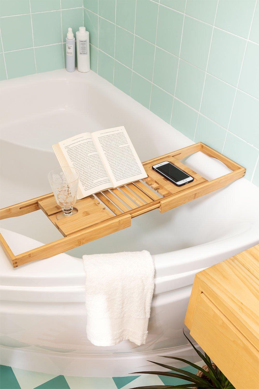 Bamboo Bath Tray Karisa, gallery image 1