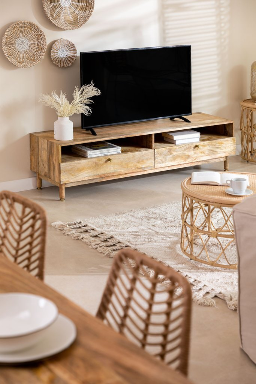 Absy Wood TV Cabinet, gallery image 1