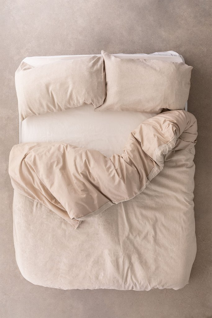Ragnar Linen and Cotton Duvet Cover, gallery image 1