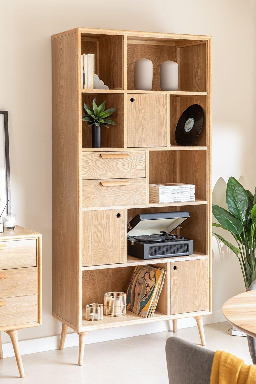 MDF bookcase Berkem, gallery image 1