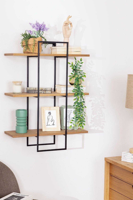 Ash Wood Wall Shelf Ohre, gallery image 1