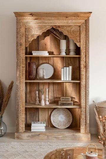 Fortti Wood Bookcase
