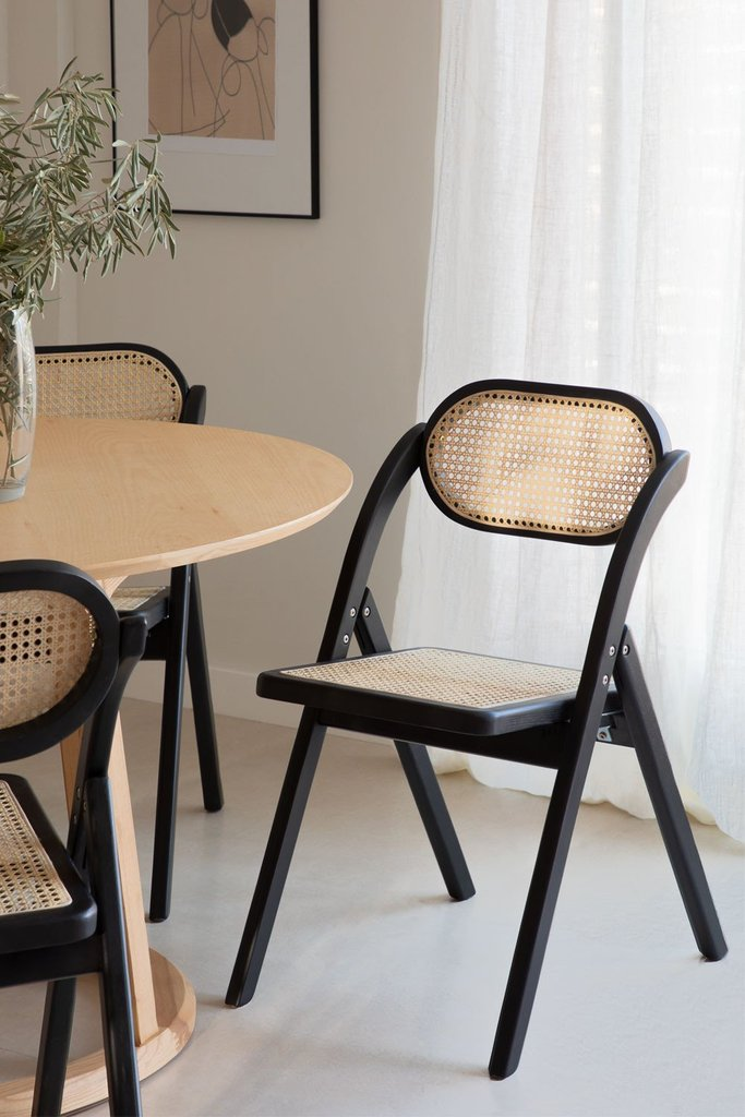 Wooden Foldable Dining Chair Sia , gallery image 1