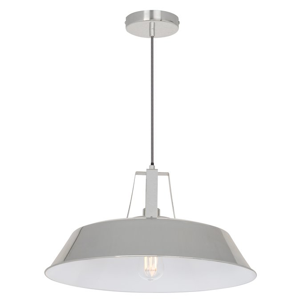 Brushed Workshop Lamp, gallery image 1