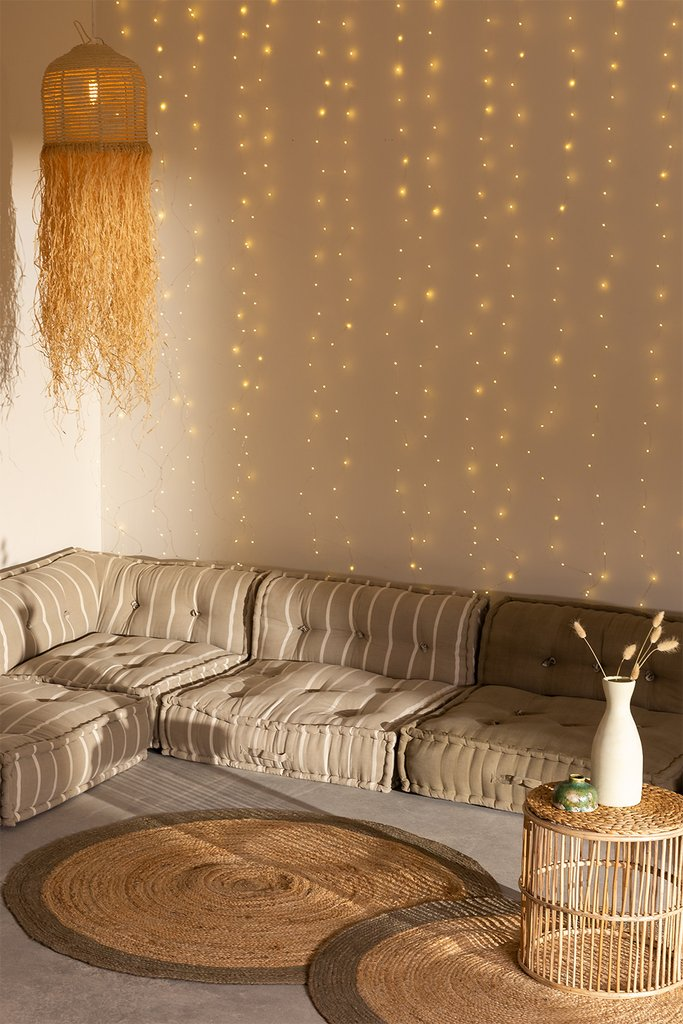 LED curtain lights (3 m and 6 m) Pryss, gallery image 1
