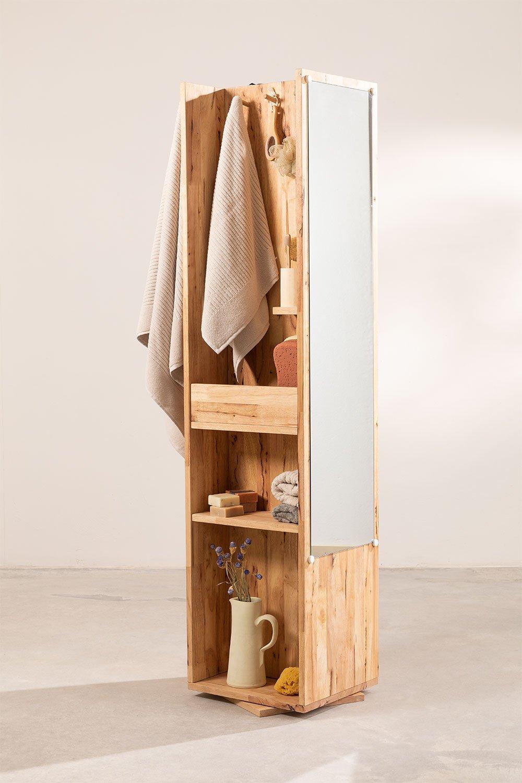 Rotating Shelf with Mirror Arlan , gallery image 1