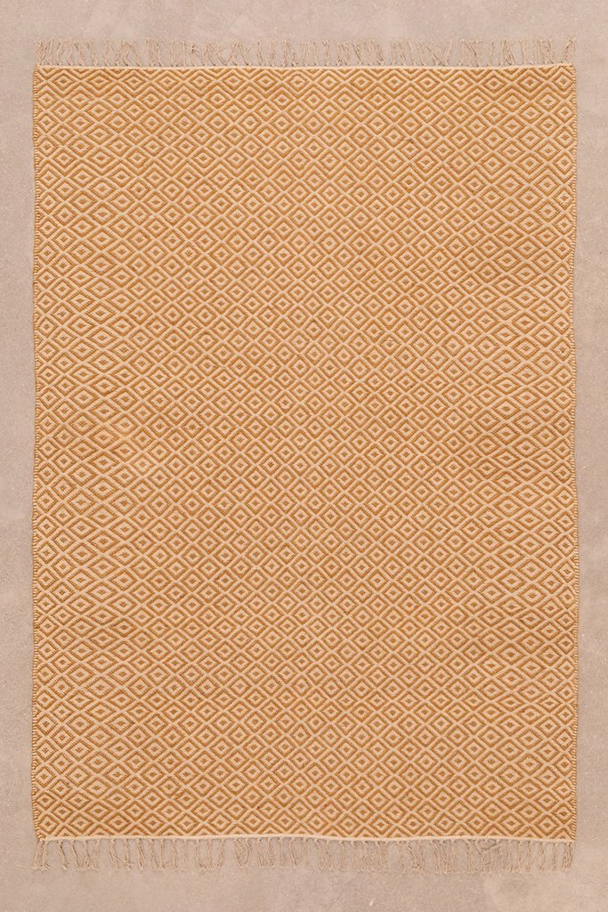 Cotton and Jute Rug (177x122 cm) Durat, gallery image 1