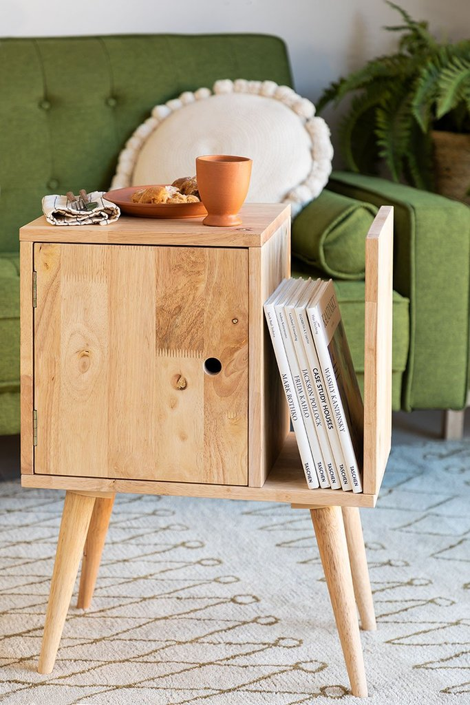 Auxiliary Table with Magazine Rack Arlan , gallery image 1