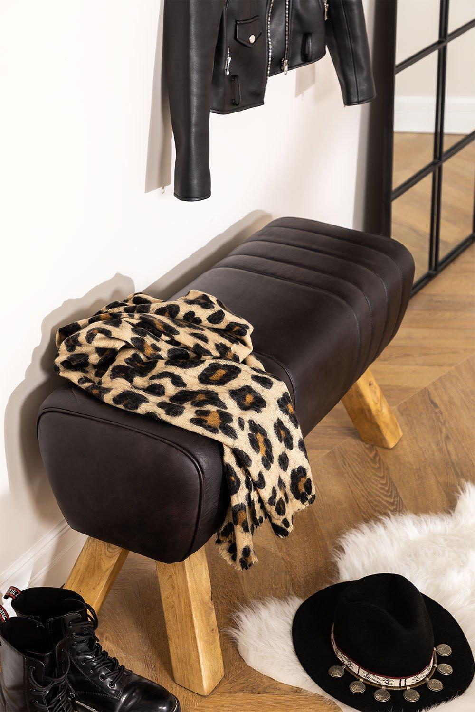 Leather Bench Nela , gallery image 1