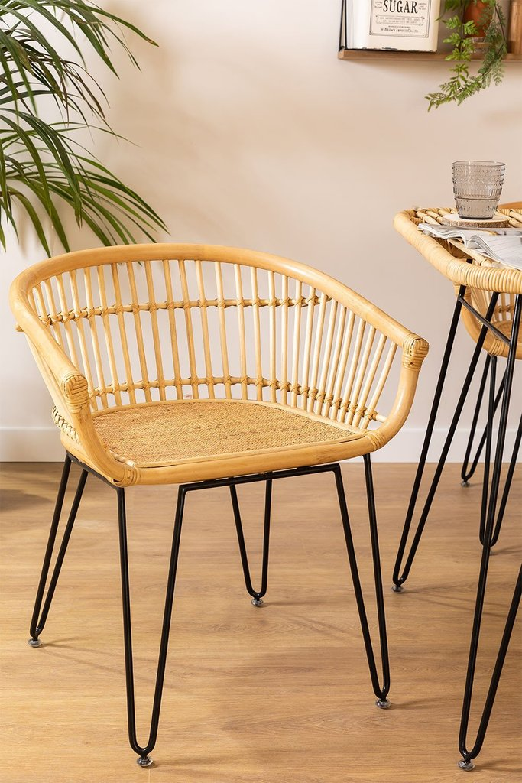 Rattan Dining Chair Zenta , gallery image 1