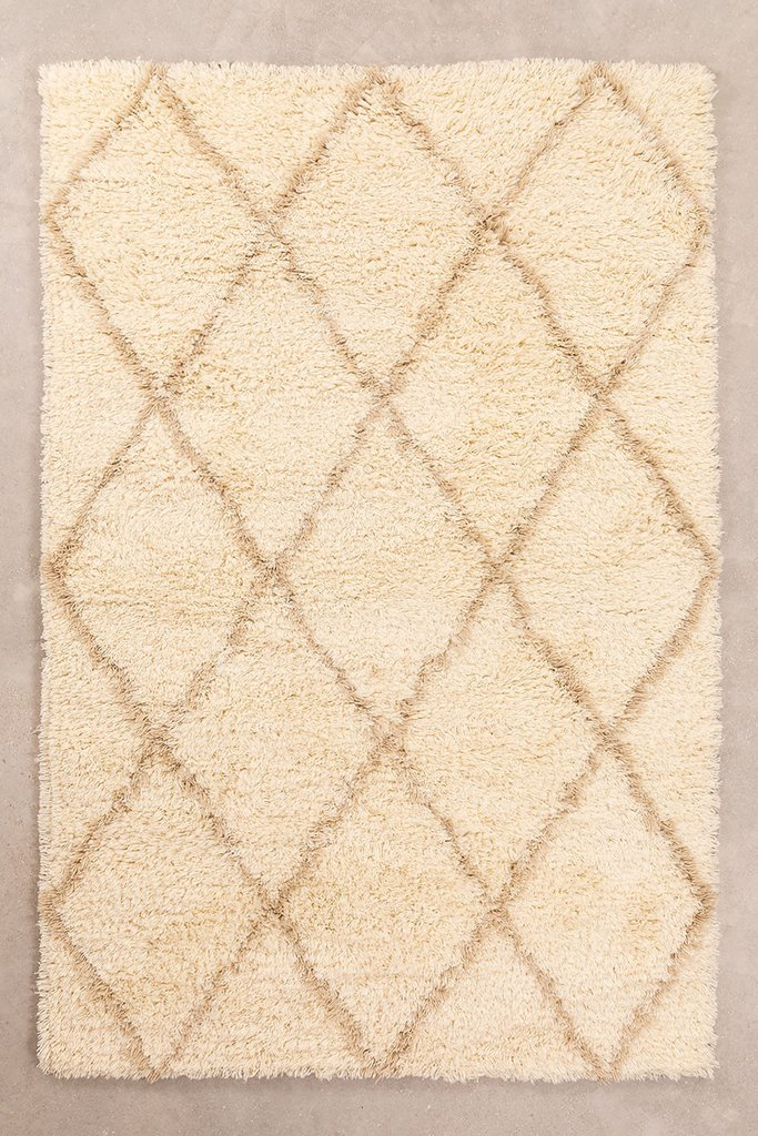 Cotton and Wool Rug (237x157 cm) Kailin, gallery image 1