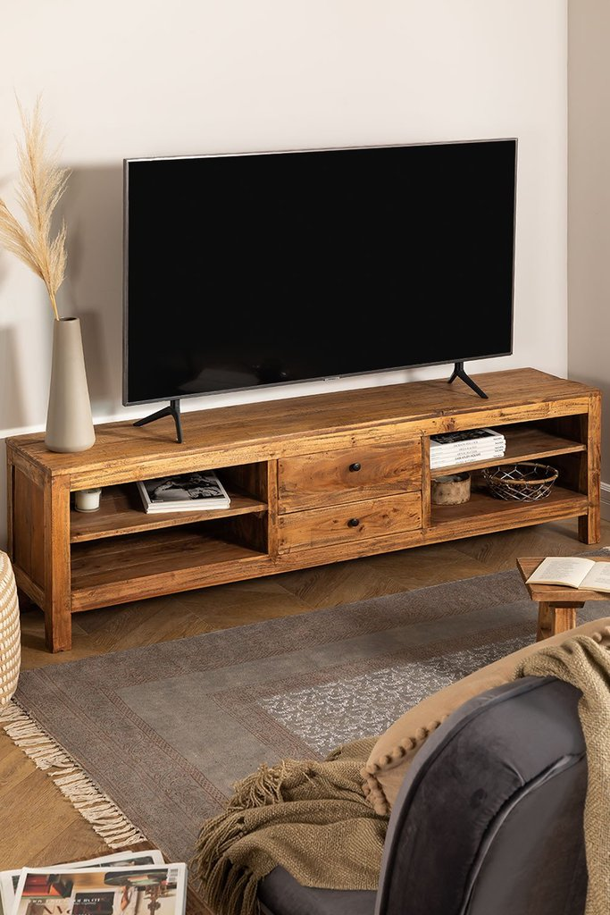 TV Cabinet in Recycled Wood Jara, gallery image 1