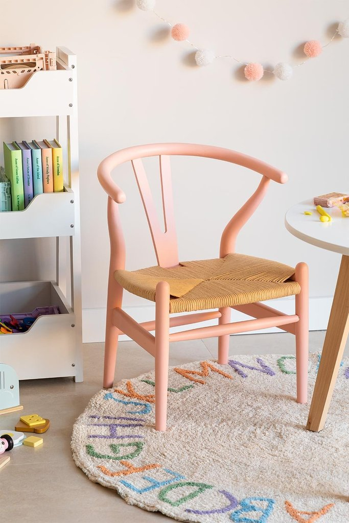 Mini Uish Kids Wooden Chair , gallery image 1