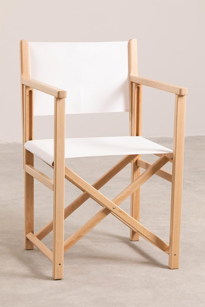Foldable  Director Chair Pitt, gallery image 1