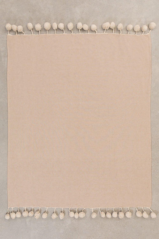Plaid Cotton Blanket Olis, gallery image 1