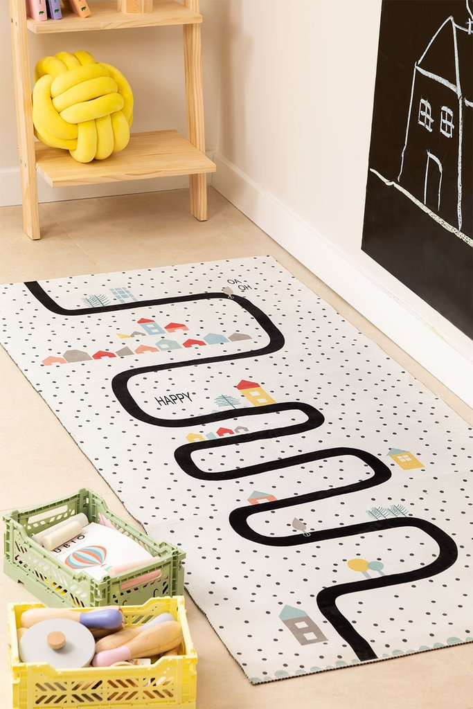 Cotton Rug (160x74 cm) Ray Kids, gallery image 1