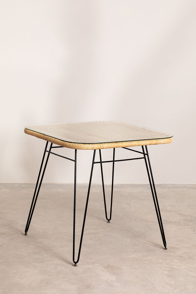 Rattan Dining Table Zenta , gallery image 1