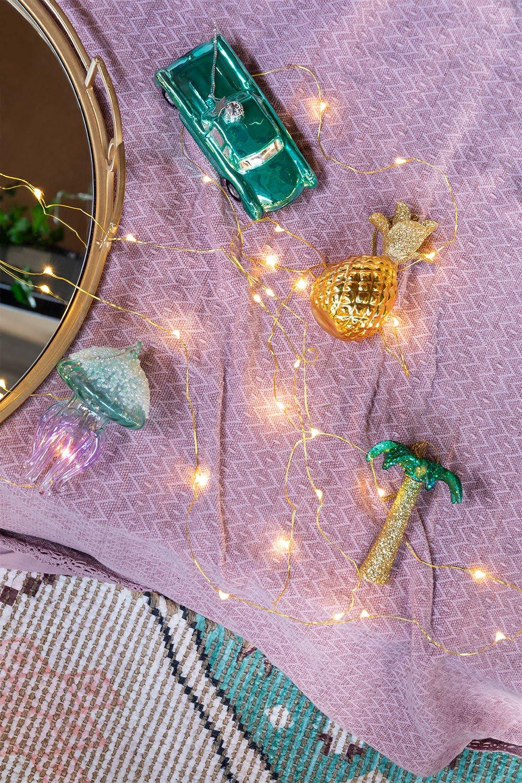 Set of 4 Tropik Christmas Ornaments, gallery image 1