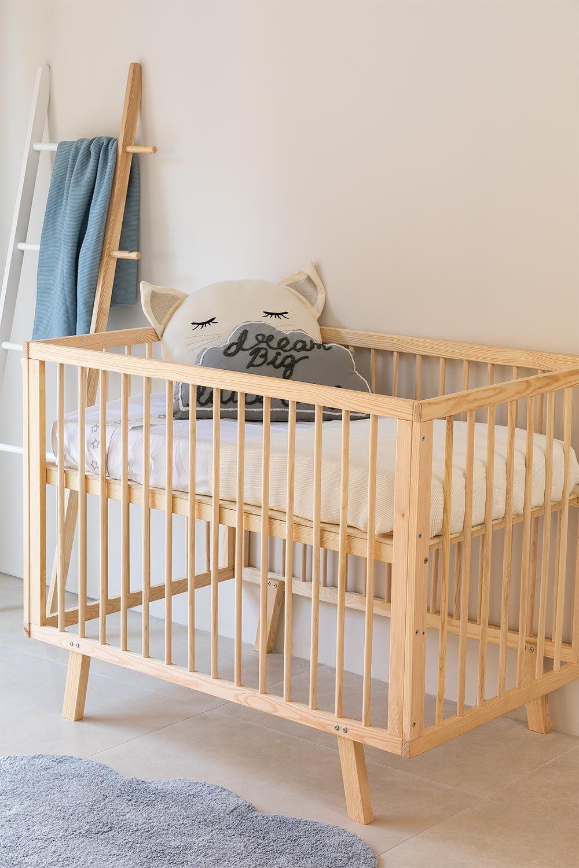 Tianna Kids Wood Crib, gallery image 1