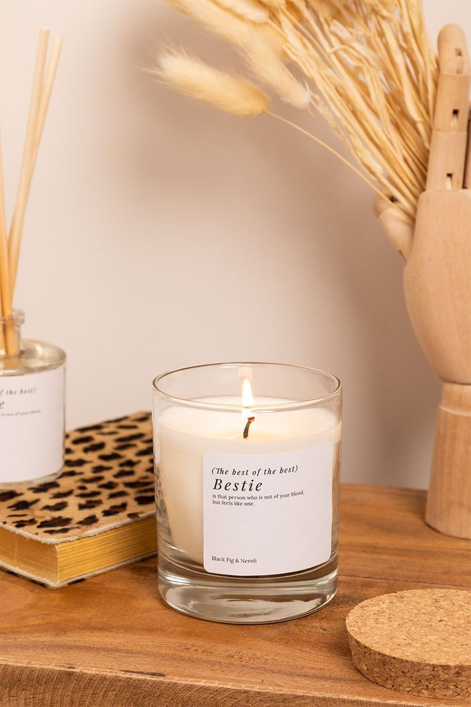 Aromatic Candle (200 gr) Words Collection, gallery image 1
