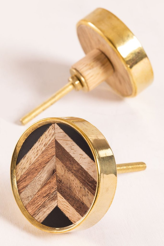 Set of 2 Knobs Birllag , gallery image 1