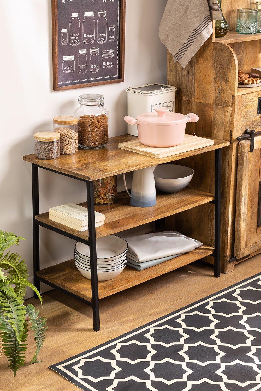 Mango Wood Shelf Aster , gallery image 1