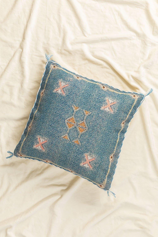 Balu Square Cotton Cushion (50x50cm), gallery image 1