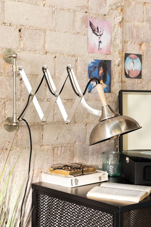 Elektra Extendable Wall Lamp, gallery image 1