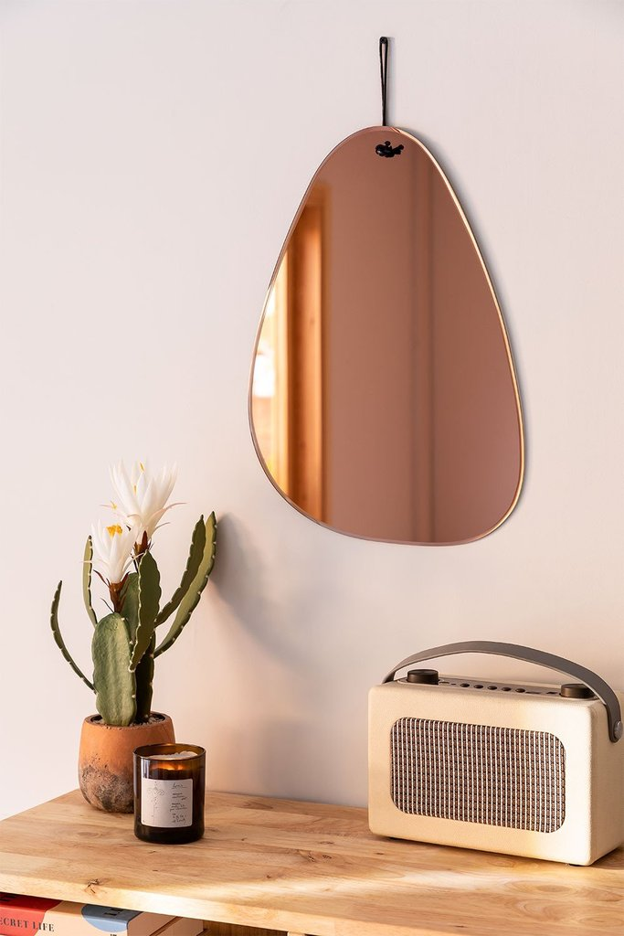 Smoked Wall Mirror Guillou, gallery image 1